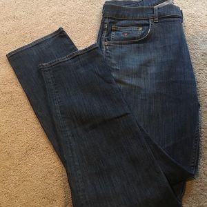 GANT Tyler Slightly  Lower Waist Regular Fit Straight Leg men Jeans Size 33//34